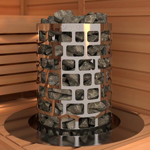 Електричекса печка за сауна SAWO Aries Round 1