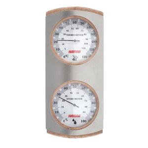 Harvia Метален термометър-хигрометър за сауна