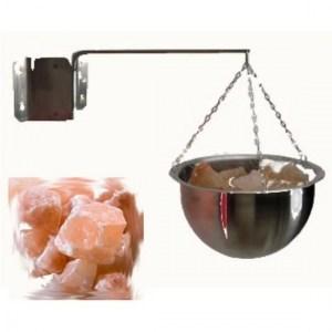 Купа за хималайска сол за сауна