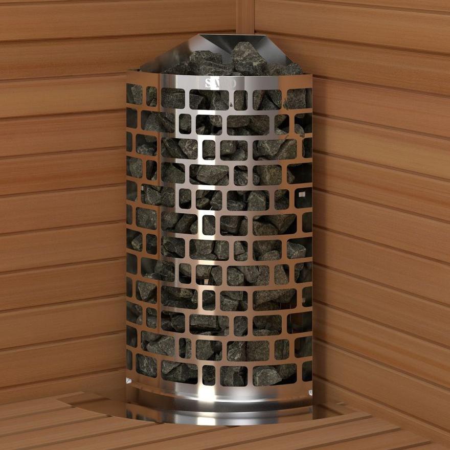 Електрическа печка за сауна SAWO Aries Corner 4