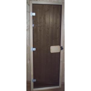Стъклена врата за сауна луксозна