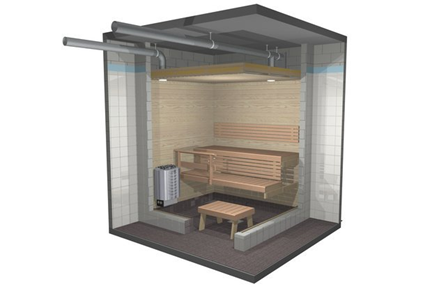 Проектиране и изграждане на сауна